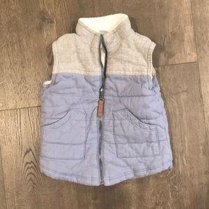 Sherpa Lined Vest